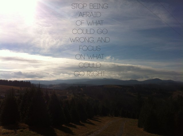 A favorite quote that I found this week, and a favorite few in the mountains of NC.